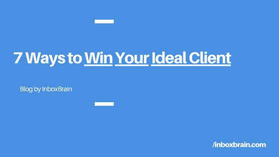 win your ideal client inboxbrain